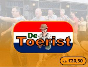 Logo De Toerist 2019 Met v.a prijs