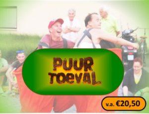Puur Toeval logo 2019 met vanaf prijs 2.0