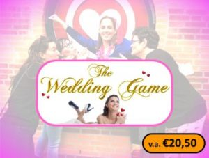 The Wedding Game logo 2019 met v.a prijs