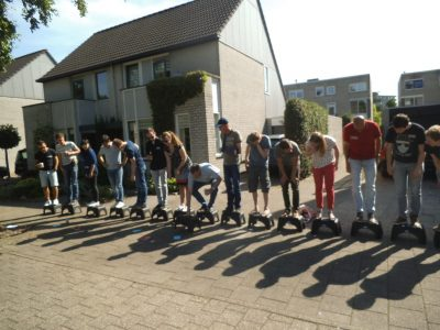 Teambuilding in Liessel