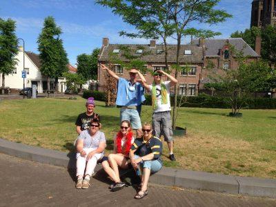 Familie uitje in Deurne
