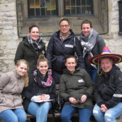 Groepsfoto Uitje 14 april in Alkmaar De Toerist van Leef 7